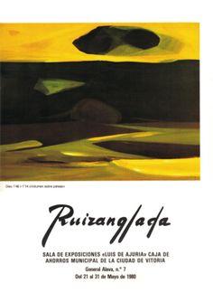 Ruizanglada Catalogo - 1980 Sala Luis de Ajuria Caja Ahorros Vitoria by Ruizanglada Pintura via slideshare