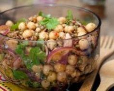 Salade de lentilles et pois chiches à la mexicaine (facile, rapide) - Une recette CuisineAZ
