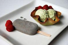 Matcha Eis und Sesam Eis, das Rezept gibt es auf reiscracker.blogspot.de