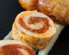 migas y gachas: Rollito de ave relleno de sobrasada #recetas #gastronomia