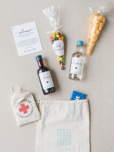 A welcome kit - A Fa