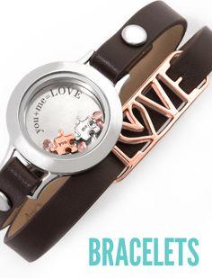 Leather Wrap Bracelets - Origami Owl Custom Jewelry https://victoriaeaaron.origamiowl.com/