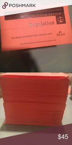 Regulation CPA Flashcards Exam Review Becker Flash Cards V13 None Missing