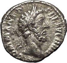 COMMODUS son of Marcus Aurelius Silver Ancient Roman Coin Concordia i53207