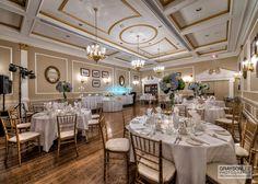 An elegant wedding reception at the Old Mill Inn in Toronto, Canada!