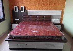 Bedroom Cupboard Designs, Wardrobe Design Bedroom, Room Design Bedroom, Bedroom Furniture Design, Modern Bedroom Design, Bedroom Styles, Bed Furniture, Simple Bed Designs, Double Bed Designs