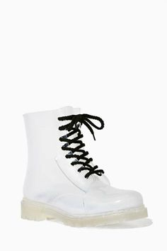 886798a4a7f4 YRU Seattle Clear Rainboot - I need these to show off all of my knitted  socks