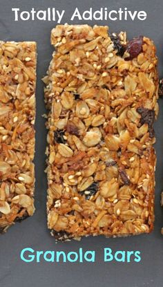 Grown-Up Granola Bars with chocolate, dried fruit and nuts | Mother Would Know