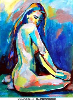 View Helena Wierzbicki's Artwork on Saatchi Art. Find art for sale at great prices from artists including Paintings, Photography, Sculpture, and Prints by Top Emerging Artists like Helena Wierzbicki. Art Inspo, Painting Inspiration, Figure Painting, Painting & Drawing, Body Painting, Art Amour, Tableau Pop Art, Poses References, Art Moderne
