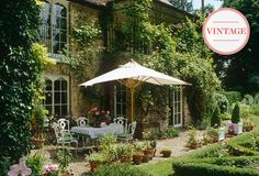 Vintage Garden Picks: An English-Inspired Outdoor Space