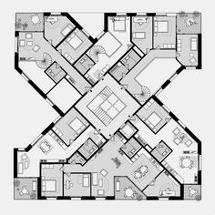Practice for architecture and urbanism – Zurich Switzerland Facade Architecture, Concept Architecture, Residential Architecture, Building Concept, Building Design, Zurich, Architectural Floor Plans, Apartment Floor Plans, Site Plans