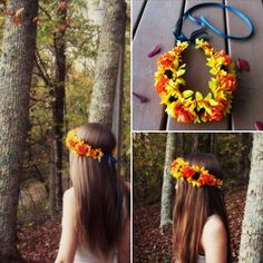 Bring in Autumn with some beautiful autumn festive flower crowns!! Loving this new piece just listed.  Available in my etsy shop. Link in my bio.  #flowercrown #love #girl #carnival #festival #autumn #goals #gypsy #hippie #grunge #hipster #bohochic  #style #fashion #longhair #boho #bohemian  #hair #goodvibes #highsociety #instagood #blessed #beauty #beautiful #sunflowers #Princess #flowercrowns #headband #wedding #leaves