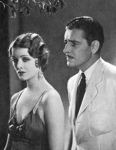 Myrna Loy and Ronald Colman