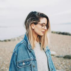 Quiz: Which Zoella Trait Do You Share? Tigerbeat New Hair Cut zoella new haircut Ombre Highlights, Hair Inspo, Hair Inspiration, Zoe Sugg, Oversized Denim Jacket, New Haircuts, Cute Hairstyles, Zoella Hairstyles, Hair Goals