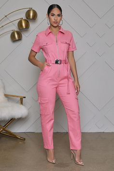 Stylish Outfits, Fashion Outfits, Fashion Heels, Suits For Women, Clothes For Women, Star Fashion, Womens Fashion, Pink Jumpsuit, Chor