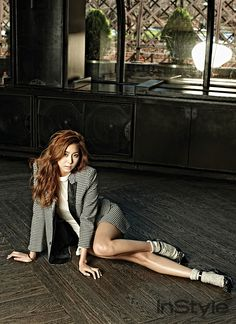 After School Uee - InStyle Magazine May Issue '14