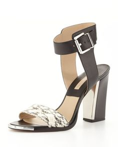 Carson Colorblock Sandal by Michael Kors at Neiman Marcus.