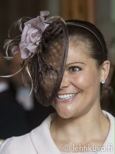 Princess Victoria attends the ordination of a new bishop in Uppsala Cathedral