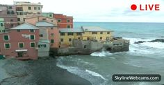 Live Webcam from Boccadasse - Italy