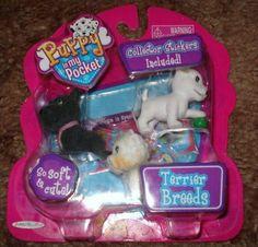 Puppy in My Pocket Terrier Breed by Jakks. $26.31