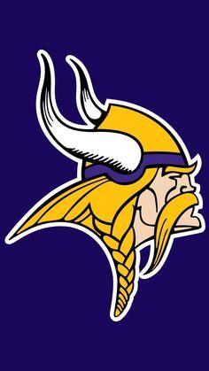 Minnesota Vikings logo Stencil Minnesota Vikings