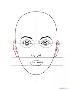 Titel afbeelding Draw a Face Step 7
