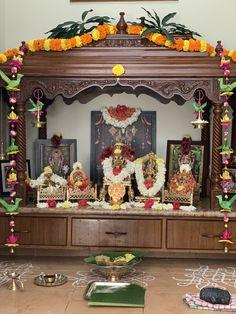Pooja Room Door Design, Home Room Design, Home Interior Design, Indoor Electric Fireplace, Centre Table Design, House Outer Design, Temple Room, Temple Design For Home, Mandir Design