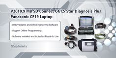 Super MB SD Connect C4 2018.9 With Panasonic CF19 Touch Screen Laptop Full Set Ready To Use  skype: obd2repair    whatsapp: +86 137 2882 3163 Email: info@obd2repair.com Programming Tools, Touch Screen Laptop, Programing Software, Software Support, Full Set, Sd, Connection