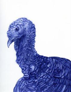 The amazing Bic pen art of Abadidabou Sarah Esteje