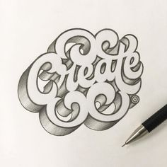 Work by @anthonyjhos #typography #betype #lettering...