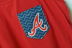 Atlanta Braves pocket T-shirt/Tank