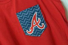 Atlanta Braves pocket T-shirt/Tank