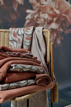 Summer Horizon by Society Limonta Home Collections, Cotton Canvas, Blanket, Color, Summer, Ss, Fresh, Bedding, Summer Time