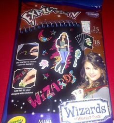 Crayola Color Explosion Wizards of Waverly Place Mini Sketch Book by Crayola. $10.69. Ages 8 & UP Per Packaging. Wizards of Waverly Place - Selena Gomez Version. Includes MINI 18 Page Wizards Tablet & 2 Broad Tip Markers. Crayola Color Explosion MINI Sketch Book Set. Includes 25 Stickers