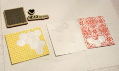 Stamping with Kim: More Paper Pumpkin Cards: June Kit, Hello to You, Stampin' Up!, Kim Ryden, Leftover Supplies