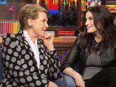 OMG: Idina Menzel & Julie Andrews Are in the Same Room Together & Talking If/Then, Adele Dazeem, The Sound of Music & More!