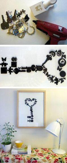 """5 cách làm tranh treo tường """"nghệ"""" như đi mua"""