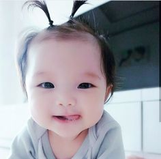Cute Asian Babies, Korean Babies, Asian Kids, Asian Cute, Cute Korean, Cute Babies, Beautiful Children, Beautiful Babies, Baby Pictures