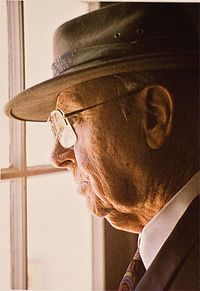 A. Hays Town/ a grand gentleman/architect acclaimed! Born in Crowley, LA /built fab u lous home.....I'd like to have a coffee  table book on him/bb