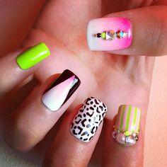 the-pretty nails. #nail #nails #nailart