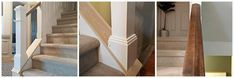 DIY Stair Railing Makeover - The Painted Home by Denise Sabia, Diy Stair Railing, Iron Balusters, Staircase Makeover, Newel Posts, Farmhouse Remodel, Stairs, Air Vent, Staircases, Grills