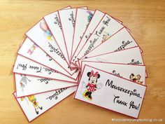 A fab #Disney free #printable! Mousekeeping Envelopes - great for my next trip!
