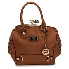 0974ee4a35 Look at this Versace 1969 Brown Cambridge Satchel on today!