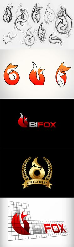 2016 #zorro #naranja #rojo #orange #red #fire #fuego #logo #logotipo #sketch #draft #boceto #forex #fox
