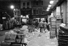 Les Halles Paris 1950