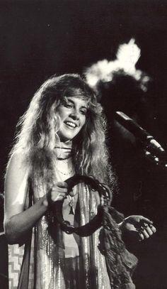 Super Seventies — Stevie Nicks on stage.