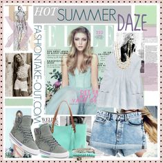 """""""**HOT Summer DAZE**"""" by fashiontake-out on Polyvore"""