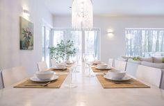 14 Modern Pendant Lighting Trends That'll Light Up Your Life Light Up, Pendant Lighting, Dining Table, Modern, Crystal, Inspiration, Furniture, Home Decor, Homemade Home Decor