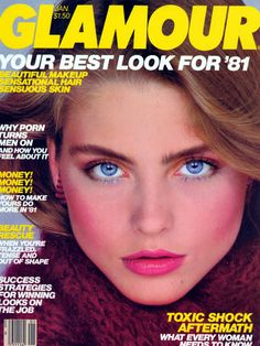 KIM ALEXIS Glamour Cover January 1981