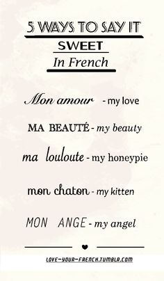 "French expressions with the word ""heart"""